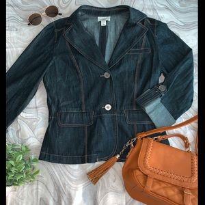 LOFT Denim Jacket Blazer